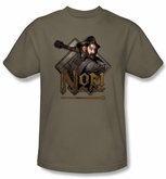 The Hobbit Kids Shirt Movie Unexpected Journey Nori Green T-shirt