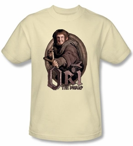 The Hobbit Kids Shirt Movie Unexpected Journey Ori Cream T-shirt
