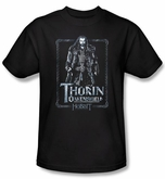 The Hobbit Kids Shirt Movie Unexpected Journey Thorin Black T-shirt
