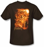 The Hobbit Kids Shirt Unexpected Journey Adventure Coffee T-shirt