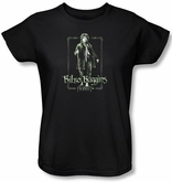 The Hobbit Ladies Shirt Movie Unexpected Journey Bilbo Black Tee