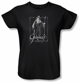 The Hobbit Ladies Shirt Movie Unexpected Journey Gandalf Black T-shirt
