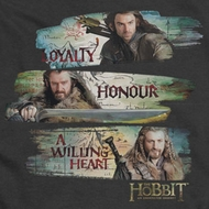 The Hobbit Loyalty Honour Shirts