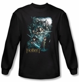 The Hobbit Shirt Movie Unexpected Journey Adventure Black Long Sleeve