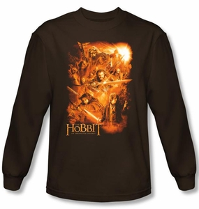The Hobbit Shirt Movie Unexpected Journey Adventure Coffee Long Sleeve