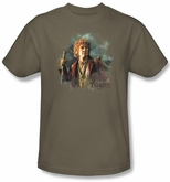 The Hobbit Shirt Movie Unexpected Journey Bilbo Baggins Adult Tee