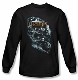 The Hobbit Shirt Movie Unexpected Journey Characters Black Long Sleeve