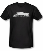 The Hobbit Shirt Movie Unexpected Journey Company Black Slim Fit Tee
