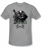 The Hobbit Shirt Movie Unexpected Journey Dwalin Silver Slim Fit Tee