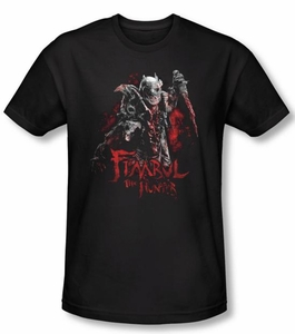 The Hobbit Shirt Movie Unexpected Journey Fimbul The Hunter Slim Fit