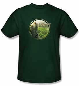 The Hobbit Shirt Movie Unexpected Journey Gandalfs Journey Adult Tee