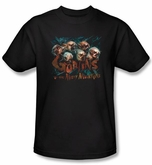 The Hobbit Shirt Movie Unexpected Journey Misty Goblin Adult Black Tee