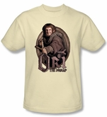 The Hobbit Shirt Movie Unexpected Journey Ori Adult Cream T-shirt