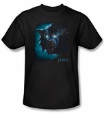 The Hobbit Shirt Movie Unexpected Journey Warg Adult Black T-Shirt