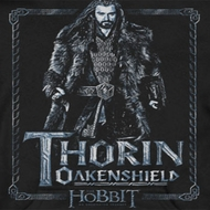 The Hobbit Thorin Framed Shirts