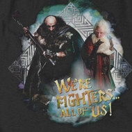 The Hobbit We're Fighters Shirts