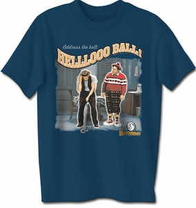 "The Honeymooners ""Address the Ball"" T-shirt Tee Shirt"