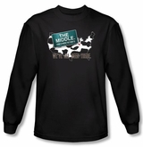 The Middle T-shirt We've All Been There Black Long Sleeve Shirt