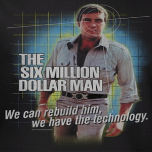The Six Dollar Million Man Shirts