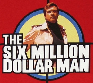 The Six Million Dollar Man T-Shirts