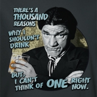 Three Stooges Drink Shirts