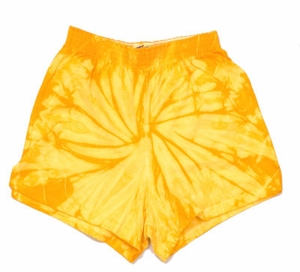 Tie Dye Kids Shorts Spider Gold Youth Soffe Shorts