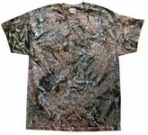 Tie Dye Kids T-shirt Camo Retro Military Vintage Youth Tee Shirt