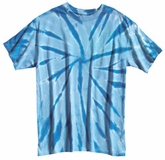 Tie Dye Kids T-shirt Dyenomite Spiral Youth Tee Shirt