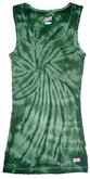 Tie Dye Kids Tank Top Spider Green Youth Soffe Tanktop
