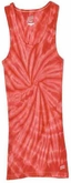 Tie Dye Kids Tank Top Spider Red Youth Soffe Tank Top