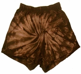 Tie Dye Shorts Spider Chocolate Soffe Shorts