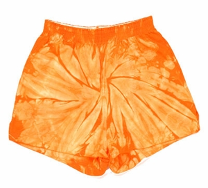 Tie Dye Spider Orange Retro Vintage Groovy Youth Kids Soffe Shorts