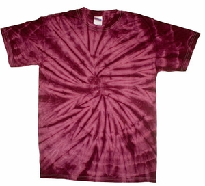 Tie Dye Spider Plum Retro Vintage Groovy Youth Kids T-Shirt Tee Shirt