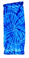 Tie Dye Spider Royal Retro Vintage Groovy Beach Towel
