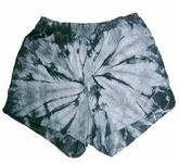 Tie Dye Spider Silver Retro Vintage Groovy Adult Unisex Soffe Shorts