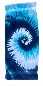 Tie Dye Spider Typhoon Retro Vintage Groovy Beach Towel
