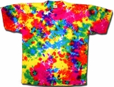 Tie dye T-shirt - Macaw Parrot Adult Tee
