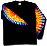 Tie Dye T-shirt - Sundog Long Sleeve Tee