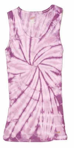 Tie Dye Tank Top Spider Lavender Soffe Tank Top