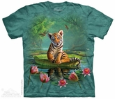 Tiger Lilly Shirt Tie Dye Adult T-Shirt Tee