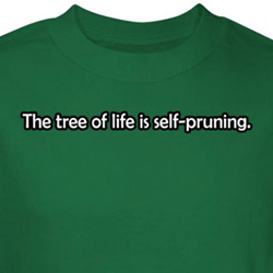 Tree of Life Shirt Self Pruning Tee T-shirt