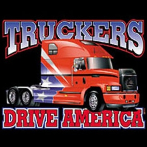 Truckers T-Shirts - American Patriotic Adult Tee