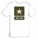 US Army Dad T-Shirt - Adult  Military Tee
