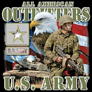 US Army T-Shirt - Outfitters Military Adult Tee