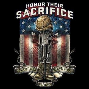 US Veteran T-Shirt -  Honor Their Sacrifice