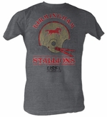 USFL Birmingham Stallion T-shirt Football League Gray Tee Shirt