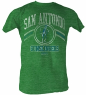 USFL San Antonio Slingers T-shirt Football League Green Tee Shirt