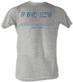USFL T-shirt Logo Football League Adult Gray Tee Shirt