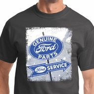 Vintage Sign Genuine Ford Parts Mens Shirts