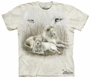 White Lion Kids Shirt Tie Dye Lioness T-shirt Tee Youth